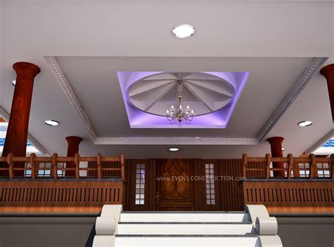 evens construction pvt  sitout ceiling