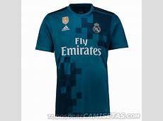 Tercera camiseta adidas de Real Madrid 201718 Todo