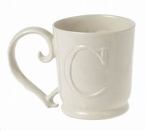 alphabet mug letter c traditional mugs by pottery barn With letter c mug