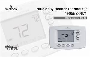 White Rodgers Thermostat 1f95ez