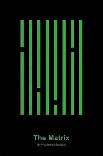 Matrix Minimalist Movie Posters Domestika Poster Css