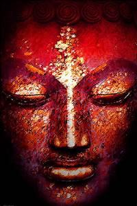 Buddha Face by William Meemken
