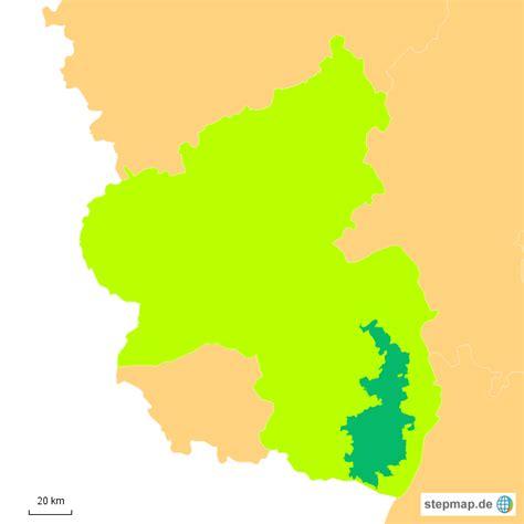 stepmap weinbaugebiet pfalz landkarte fuer deutschland