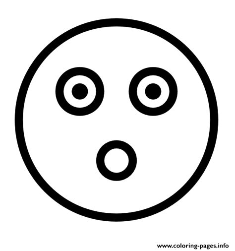 Coloring Emoji Faces by Flashed Emoji Outline Coloring Pages Printable