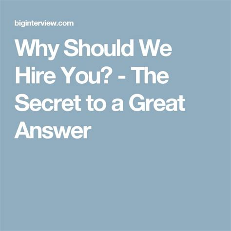 Why Should We Hire You Answers by 208 Best Images About I Professionaldevelopment On