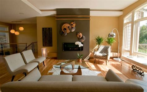 different living room themes how to separate zones sharing the same floor space using paint