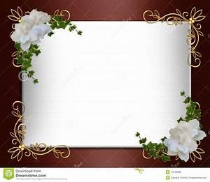 Wedding Invitation Border Elegant Stock Photos - Image ...