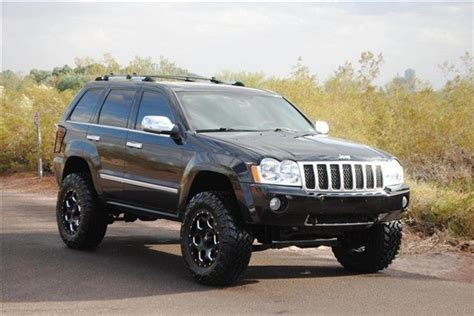 jeep grand cherokee modified custom lifted jeep grand cherokee overland