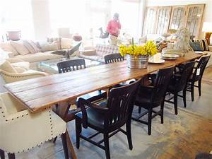 Farm Style Dining Table Set With Natural Wooden And X Base