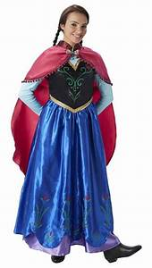 disney deluxe frozen anna costumes disney deluxe frozen With robe du couronnement anna