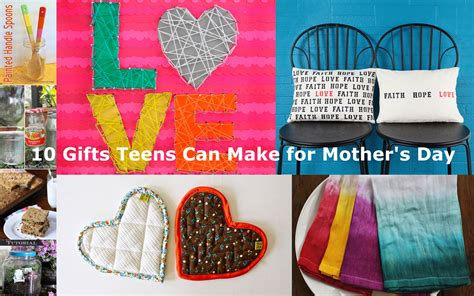 gifts for crafters 10 gifts teens can make for mother s day vicki odell