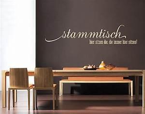 Wandtattoo Küche Bilder : wandtattoo no sf689 stammtisch spr che k che restaurant kochen essen ebay ~ Sanjose-hotels-ca.com Haus und Dekorationen