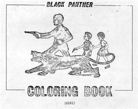 black panther coloring book the black panther coloring book fbi authored conspirazzi
