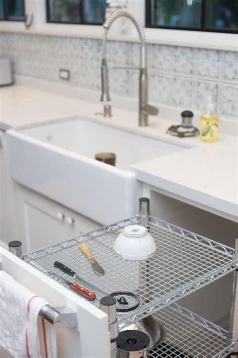 kitchen design   dish rack   counter