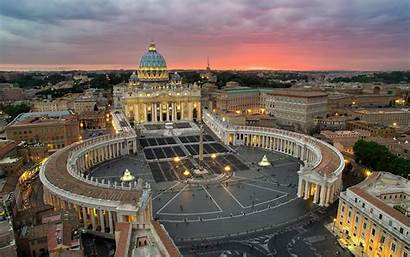 Vatican Italy Rome State Surrounded Roman Headquarters