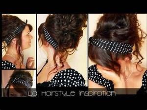Coiffure Année 50 Pin Up : coiffure pin up coiffure jolie originale et rapide l a hairstyle inspiration youtube ~ Melissatoandfro.com Idées de Décoration