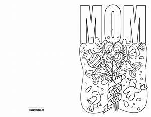 4 free printable Mother's Day ecards to color ...