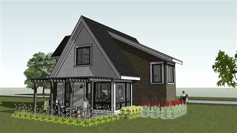 cabin plans modern small cottage cabin home design scandia modern