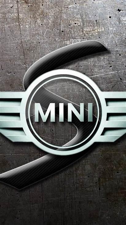 Mini Cooper Glassy Logos Mobile