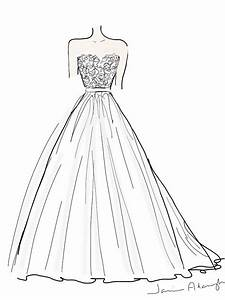 how to design a wedding dress designer wedding dresses With how to draw a wedding dress