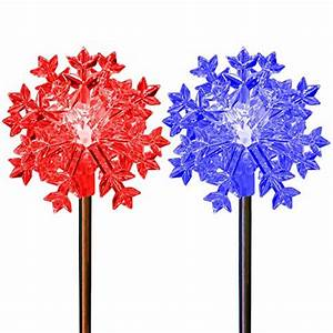 Christmas, Decoration, Snowflakes, Color, Changing, Solar, Powered, Holiday, Garden, Stake, Lights, Outdoor