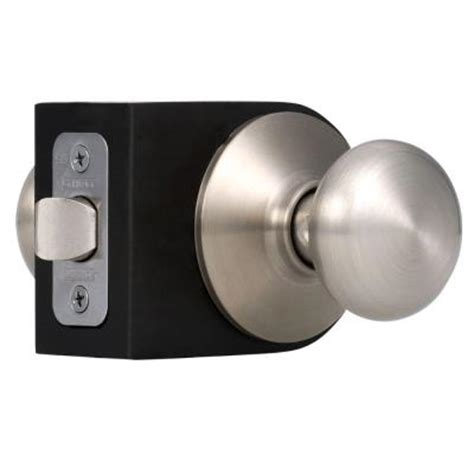 schlage plymouth satin nickel and closet knob f10 ply