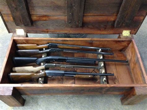 Another View Of Coffee Table With Gun Storage … Pinteres…