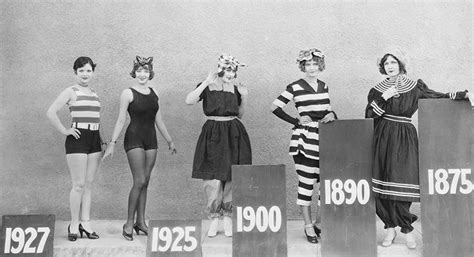 history  womens swimwear