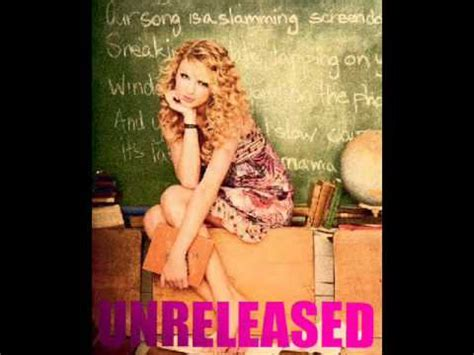 Taylor Swift UNRELEASED/Rare Songs For Trade! Updated 01 ...