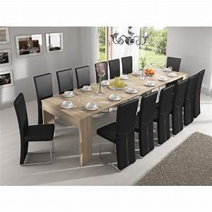 table extensible salle a manger art irene With salle a manger 10 personnes