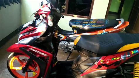 Motor Modif Skotlet Orange by Top Modifikasi Motor Mio M3 Terbaru Modifikasi Motor