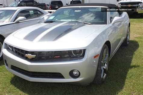 2012 Camaro 2lt by 2012 Chevrolet Camaro Rs Convertible Untitled Silver 2lt