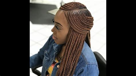 2018 Weave Braids ; Latest Hairstyles You Should Try Next