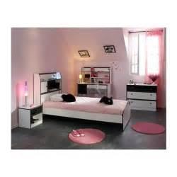Lit Bureau Fillette by Chambre Fille 4 Pi 232 Ces Avec Bureau Disco Noire Et Blanche