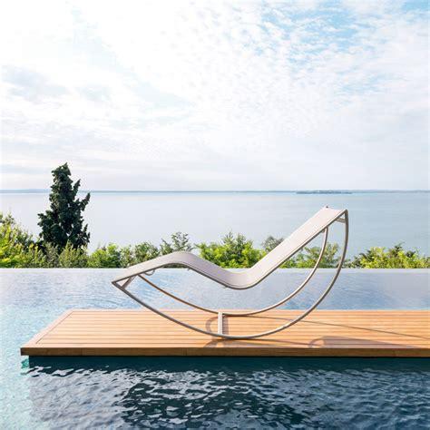 chaise de jardin design chaise longue de jardin kot
