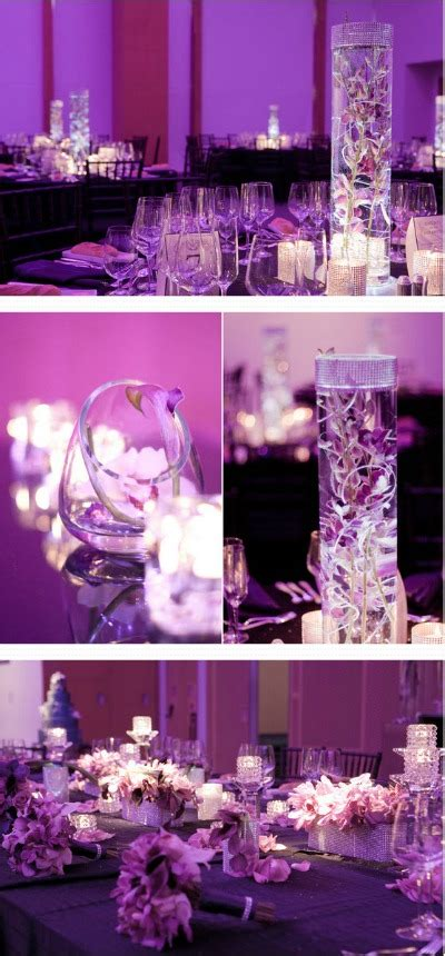 themes in the color purple ideas for a purple wedding theme