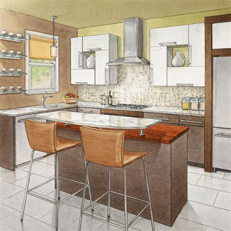 Secrets of Successful Kitchen Layouts   Better Homes & Gardens