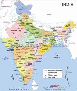 Free Coloring Pages Of India Political Outline