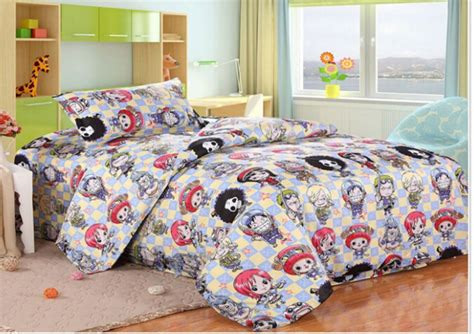 one piece anime quilt cover japan anime one piece bedding children bedding set for