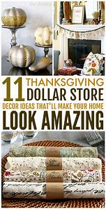 11, Dollar, Store, Thanksgiving, Decor, Ideas, That, Are, Super, Easy