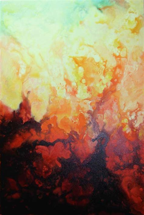 Beautiful Abstract Acrylic Painting