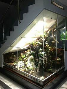 41 The Best Home Stairs Design Ideas With Aquarium  With