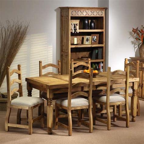 segusino mexican pine furniture segusino mexican dining