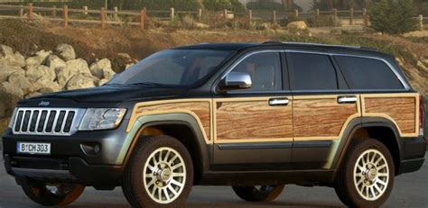 2018 Jeep Wagoneer Concept by 2018 Jeep Grand Wagoneer Concept Rumors