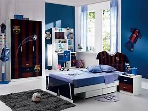 chambre ado garcon 22 idees originales en couleur bleue With idee couleur chambre ado