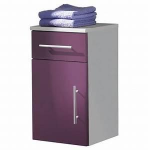 Meuble Rangement Salle De Bain : boite de rangement meuble bas de salle de bain ~ Edinachiropracticcenter.com Idées de Décoration