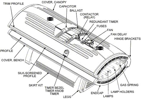 Wiring Diagram For Tanning Bed by Wolff Tanning Gt G Series Gt G 28lxth