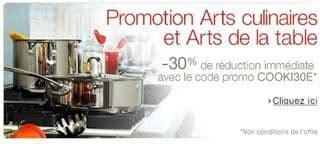 code promo amazon cuisine et maison 30 de remise sur la vaisselle casserole couverts et autre articles de cuisine et arts de la table