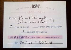 Creative weddings 7 idee originali ed economiche per for Wedding rsvp cards filled out