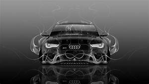 Audi RS6 Front Fire Abstract Car 2015 Wallpapers el Tony